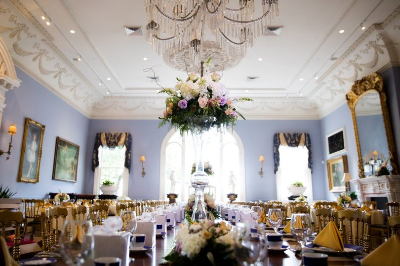 Reception in Carriage House