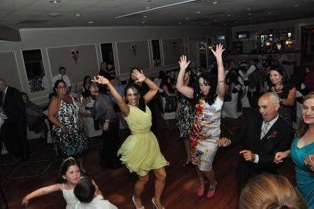 Ladies on the dance floor