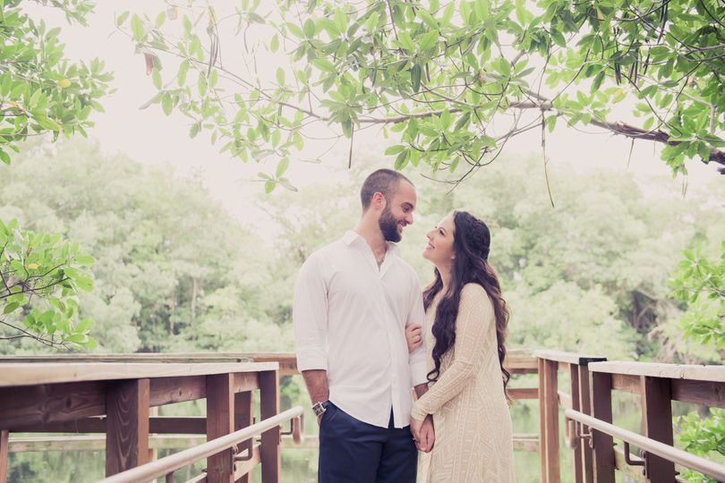 Forest setting engagement session