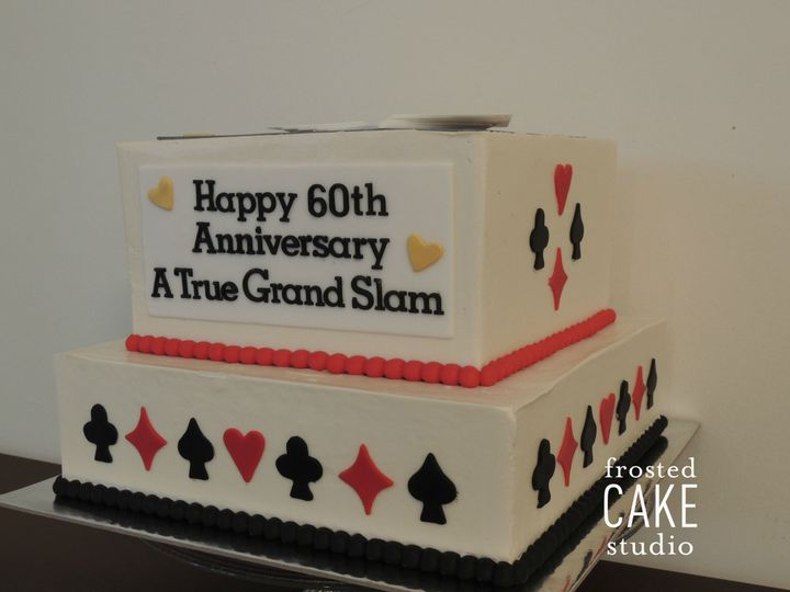 Tmx 1440511174501 Marcias Parents Cake Ambler wedding cake