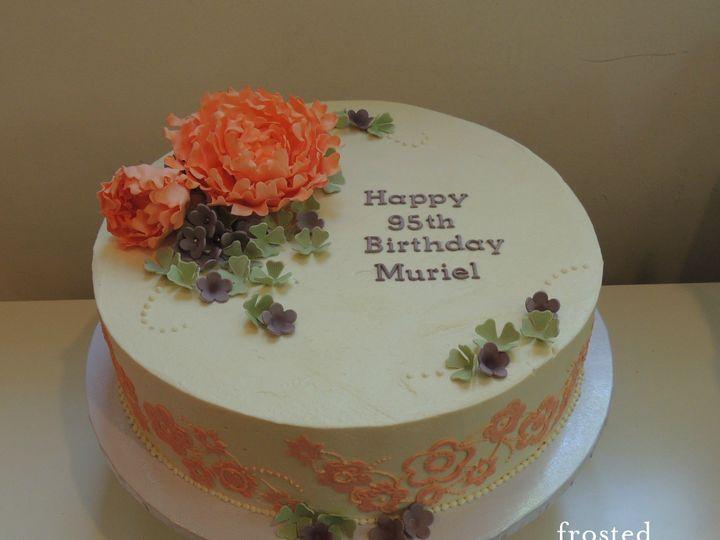 Tmx 1440511237913 Muriels Cake Ambler wedding cake