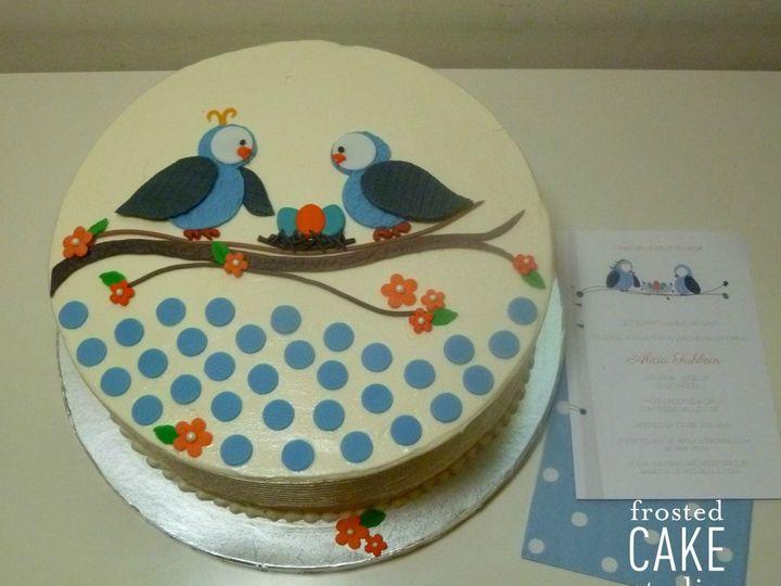 Tmx 1440511249834 Watermark Alicia Volk Ambler wedding cake
