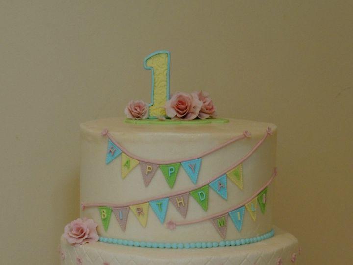 Tmx 1440511264302 Milas Bday Cake 52015 Ambler wedding cake