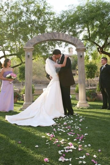 """Arc de Belle's Architectural Wedding Arch """"The Villa Adriana Collection"""" Available Los Angeles..."""