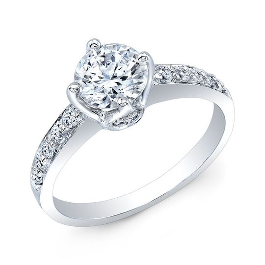 country club jewelers diamond engagement ring