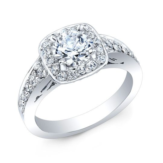 country club jewelers white diamond wedding ring