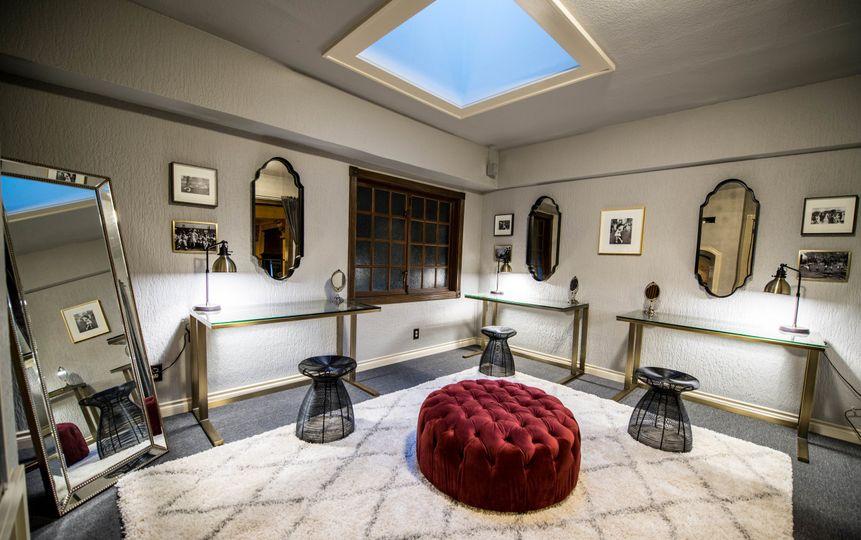 Upper Level Private Vanity Room