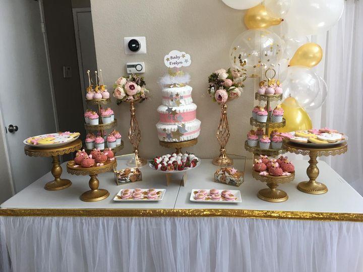 Full dessert setup