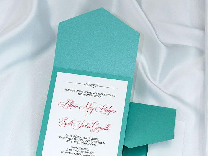Tmx 1415211107243 Pocket Invitations Tiffany Boulder wedding invitation