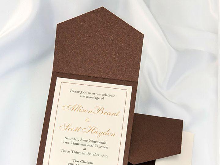 Tmx 1415211129842 Pocket Invitations Bronze Boulder wedding invitation