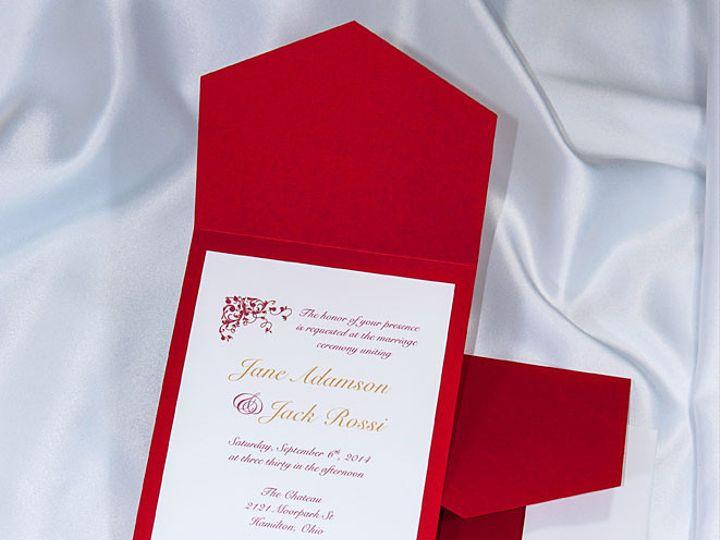 Tmx 1415211175292 Pocket Invitations Red Boulder wedding invitation