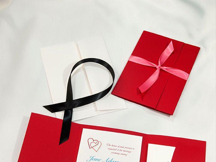 Tmx 1415219201232 Pocket Folder Invitation Red Boulder wedding invitation