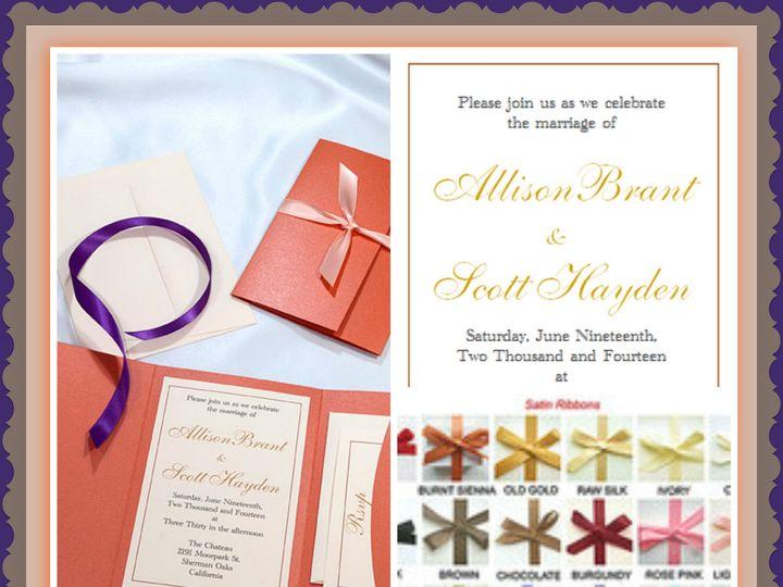 Tmx 1420591447954 Picmonkey Collageflame Boulder wedding invitation