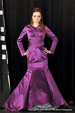 Tznius gown