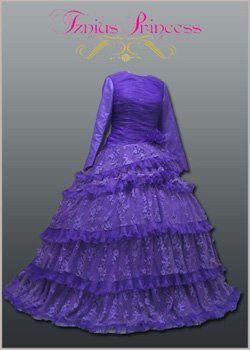 modest ball gown