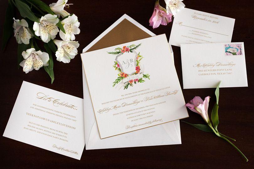 Wedding Invitations Dallas: Paper Affair Dallas