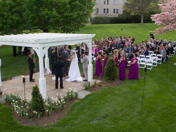 Tmx Bolger Center Pergola Ceremony Photo 2 51 374635 1565193233 Potomac, MD wedding venue