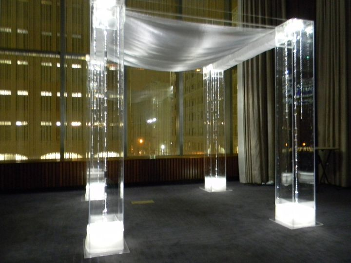 Tmx 1426513933036 Chuppah Trump Soho Side View Oak Ridge, New Jersey wedding rental