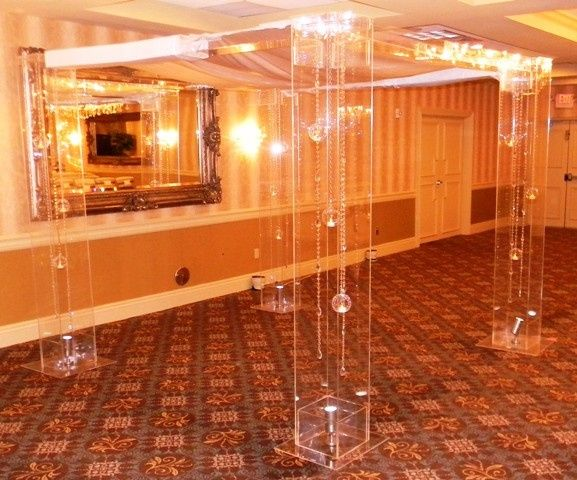 Tmx 1426513962973 Lucite Chuppah Uplight Indoor Side Oak Ridge, New Jersey wedding rental