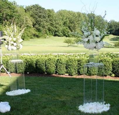 Tmx 1426514049301 Lucite Acrylic Column Pillarset Oak Ridge, New Jersey wedding rental
