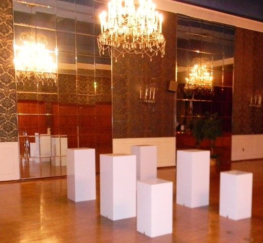 Tmx 1426514051312 Pillars Translucent White 40x15 With Short Oak Ridge, New Jersey wedding rental