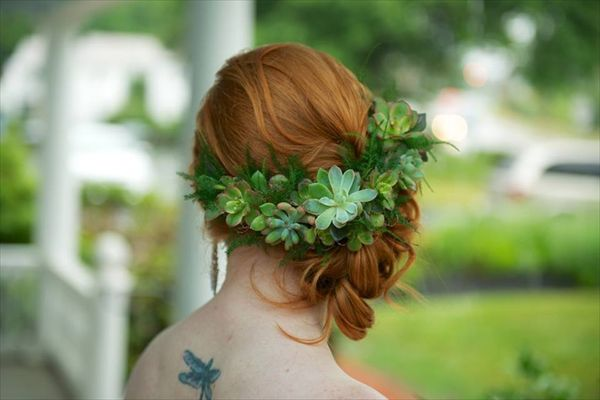 Succulent Head Piece