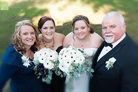 White Gerbera Wedding