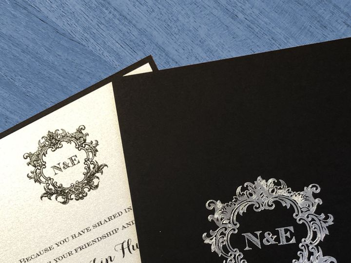 Tmx Black Tie 51 995635 West Orange, New Jersey wedding invitation
