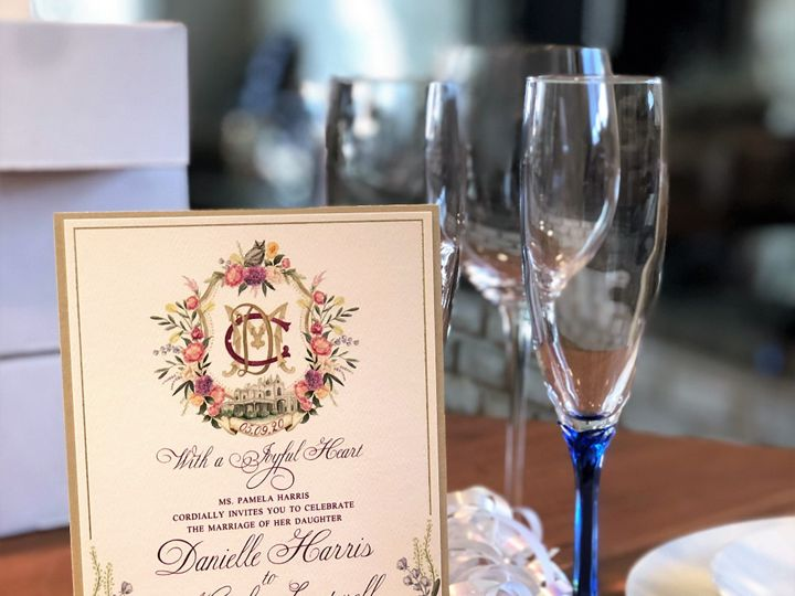 Tmx Danielle And Matthew 51 995635 157905130041870 West Orange, New Jersey wedding invitation