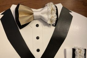 Bling bow ties