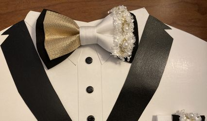 Bling bow ties 1