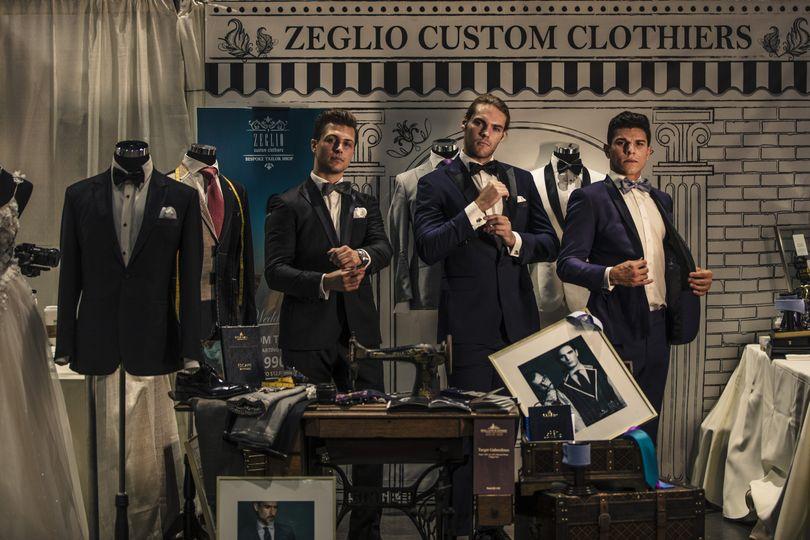 Zeglio at the shop