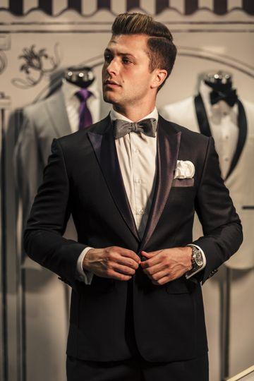 Sample tuxedo