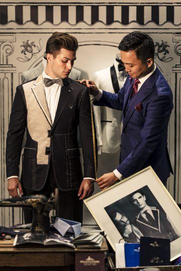 Zeglio custom suit & tuxedo
