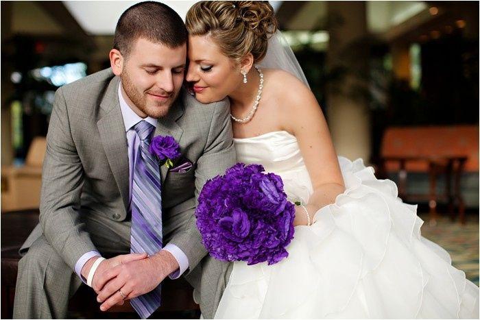 eggplant bride groom
