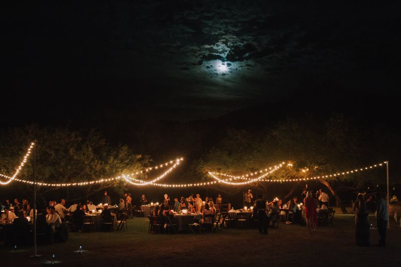 Reception under the moon