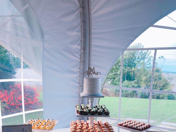 Tmx 1537745823 4d53a577bbef91f8 DC1068A7 D616 4BCC B3FC D01D33B5D7F2 Annapolis, Maryland wedding cake