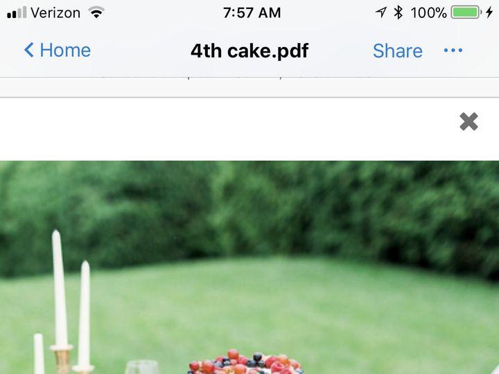 Tmx 1537756370 E0c80836701a45f5 1537756367 38242adfae1de7e7 1537756352370 32 97472CE4 1CE5 45D Annapolis, Maryland wedding cake