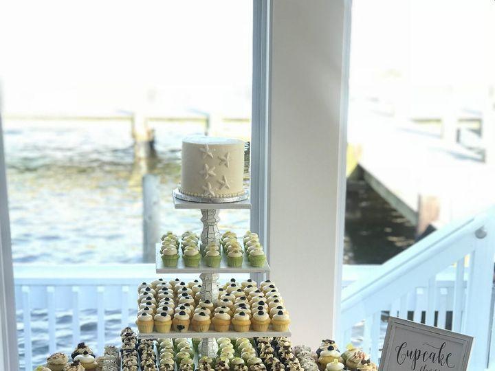 Tmx Beach Wedding Molly Collins 51 998635 Annapolis, Maryland wedding cake