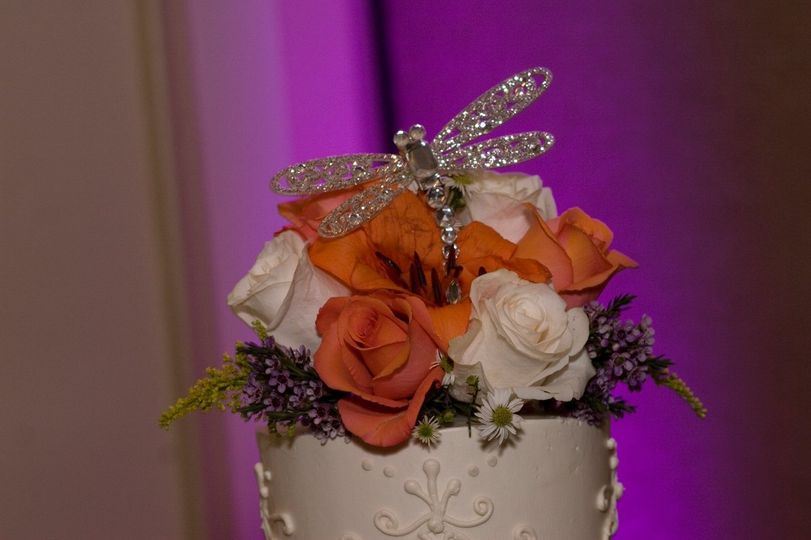 Dragonfly Cake Topper