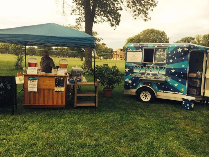Slide Food Cart & Beyond Catering cart