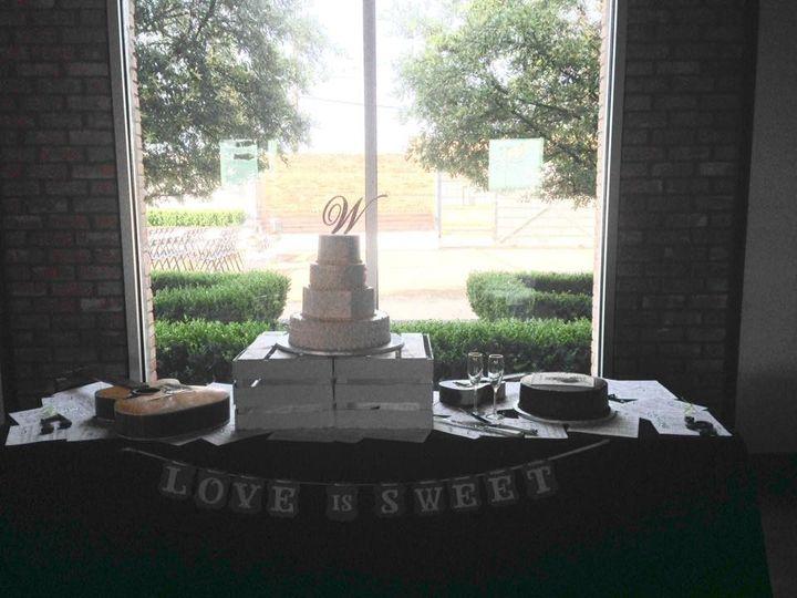 whitton reception cake