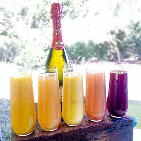 Range of drinks