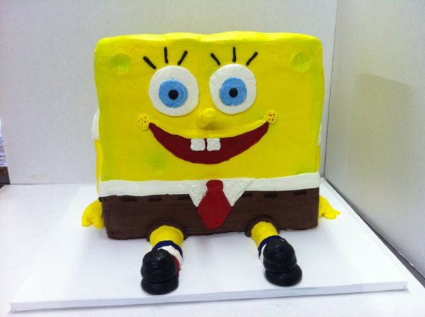 A 3 dimensional Sponge Bob...so fun!!
