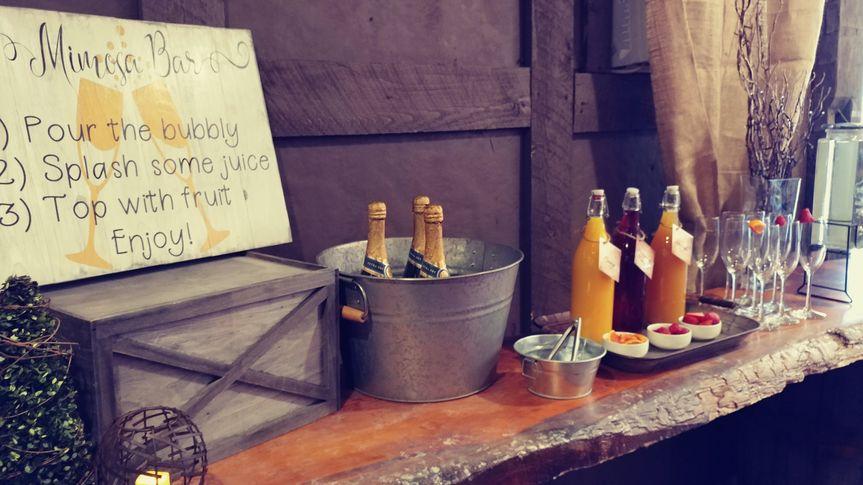 Mimosa Bar (bridal shower)