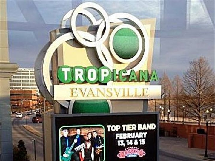 Tmx 1465865064717 Jumbo Tron At Tropicana Casino 2 14 15 Nashville, TN wedding band