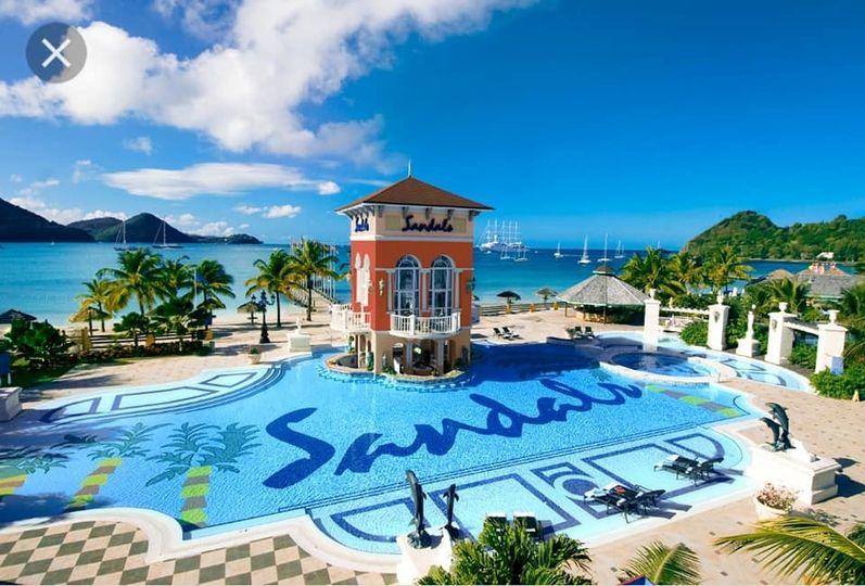 Stunning resort