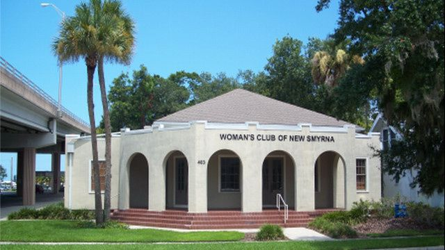 Outlook of Woman's Club of New Smyrna Beach