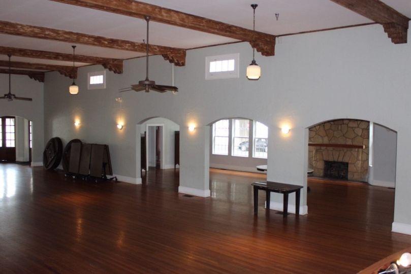 Inside of Woman's Club of New Smyrna Beach