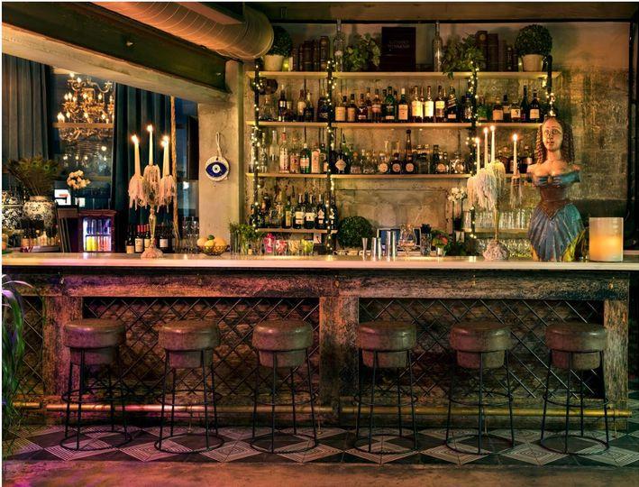 Bar indoors